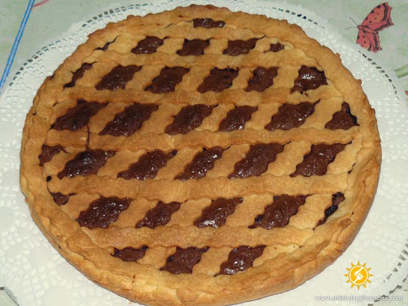 Crostata sottile al Cioccolato