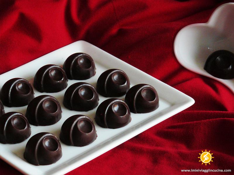 Cioccolatini Ripieni con Ganache al Miele