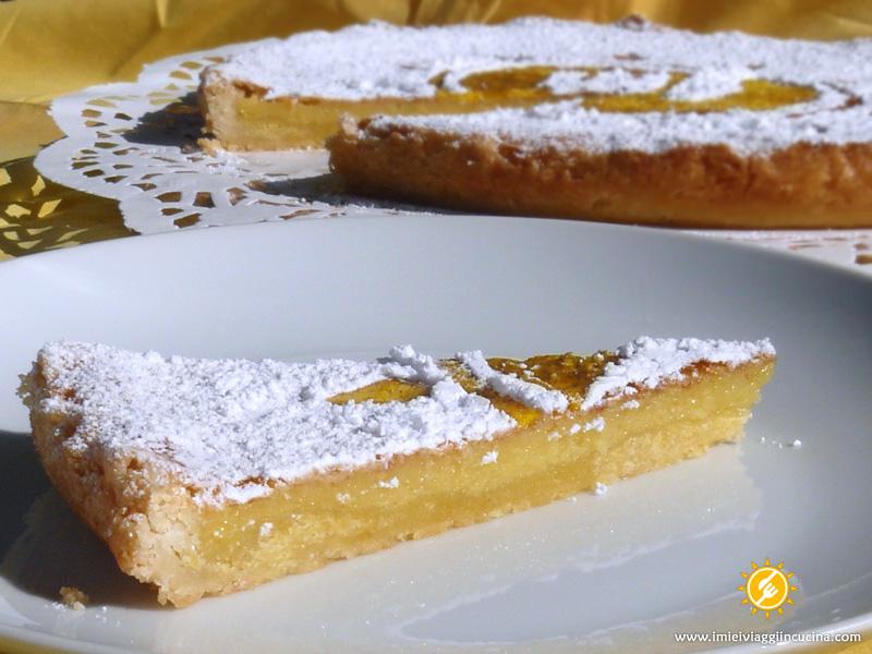 Crostata Estiva con Crema al Limone