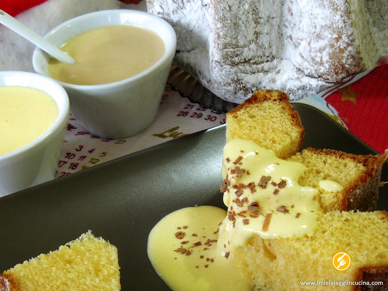Pandoro con Crema al Mascarpone e Caffè