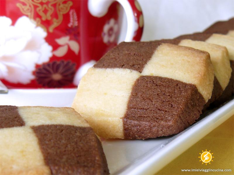 Biscotti Bicolore al Burro, Vaniglia e Cacao