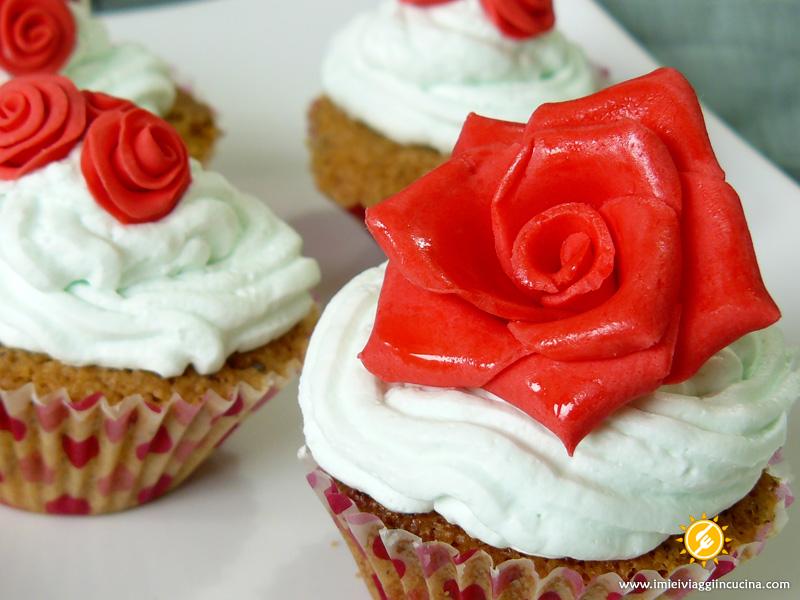 Festa della Mamma – Muffin e Rose di Zucchero