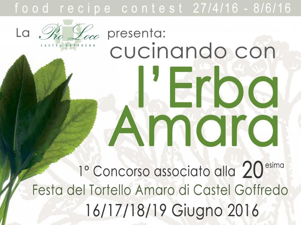 """Contest """"Cucinando con l'Erba Amara"""""""
